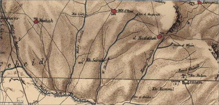 מפת ז'קוטן – 1803